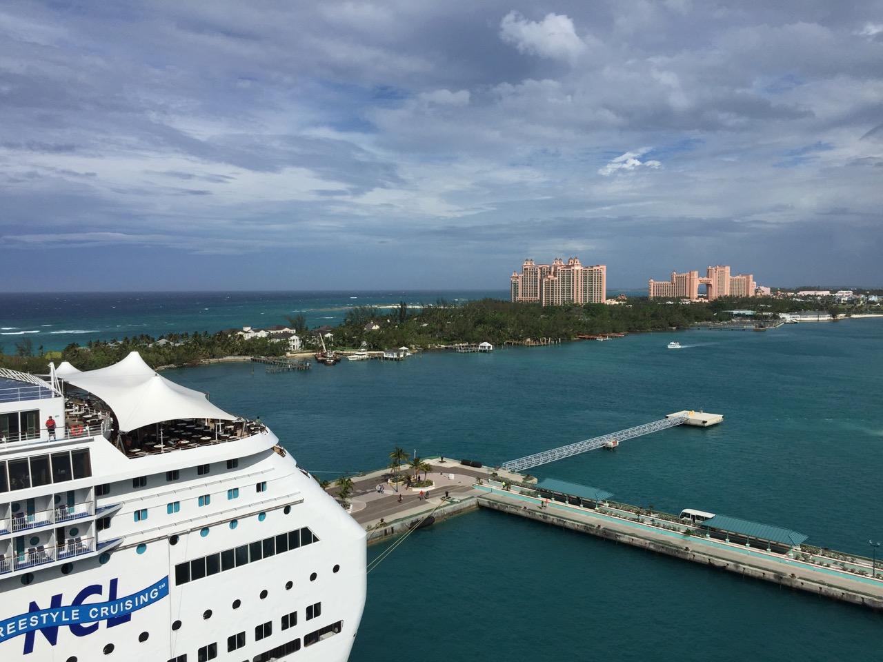 Disney Dream Nassau Atlantis View