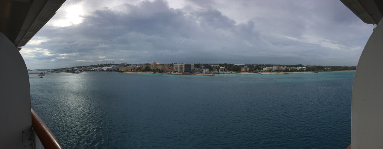 Disney Dream Nassau Port View