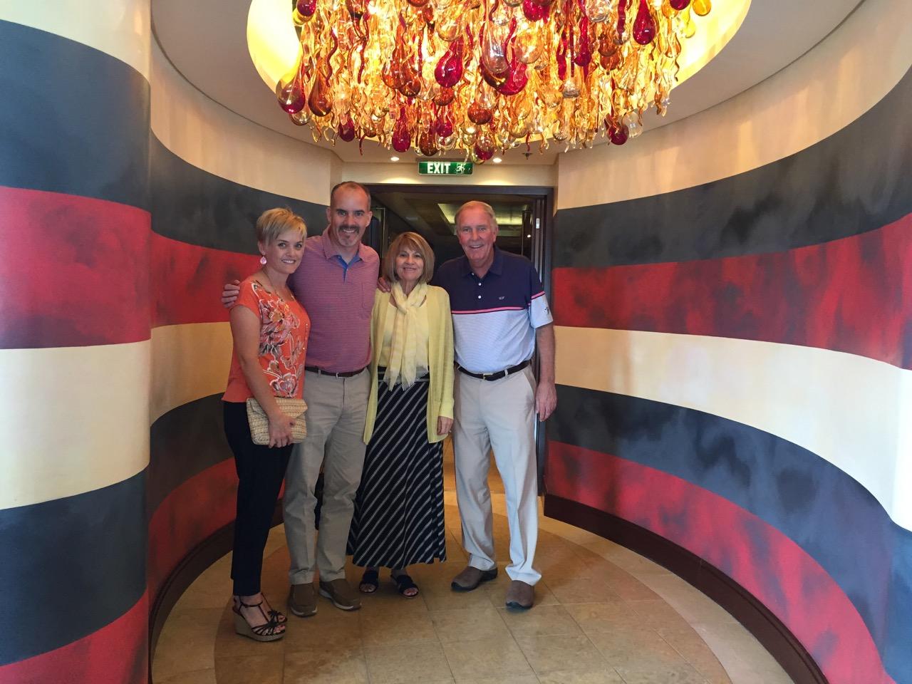 Disney Dream Palo Brunch Entrance