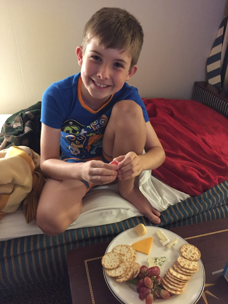 Disney Dream Room Service Cheese Plate