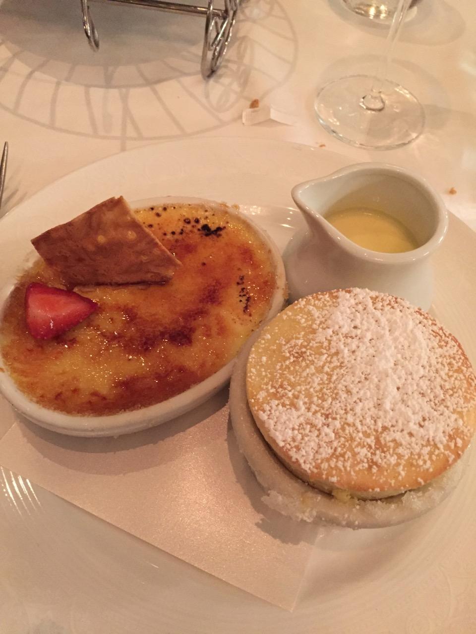 Disney Dream Royal Palace Desserts