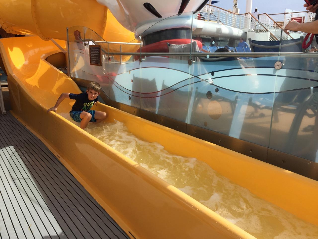 Disney Dream - Yellow Mickey Slide