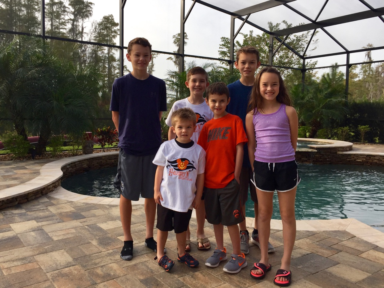 Pre-Departure Disney Cruise Family Photos