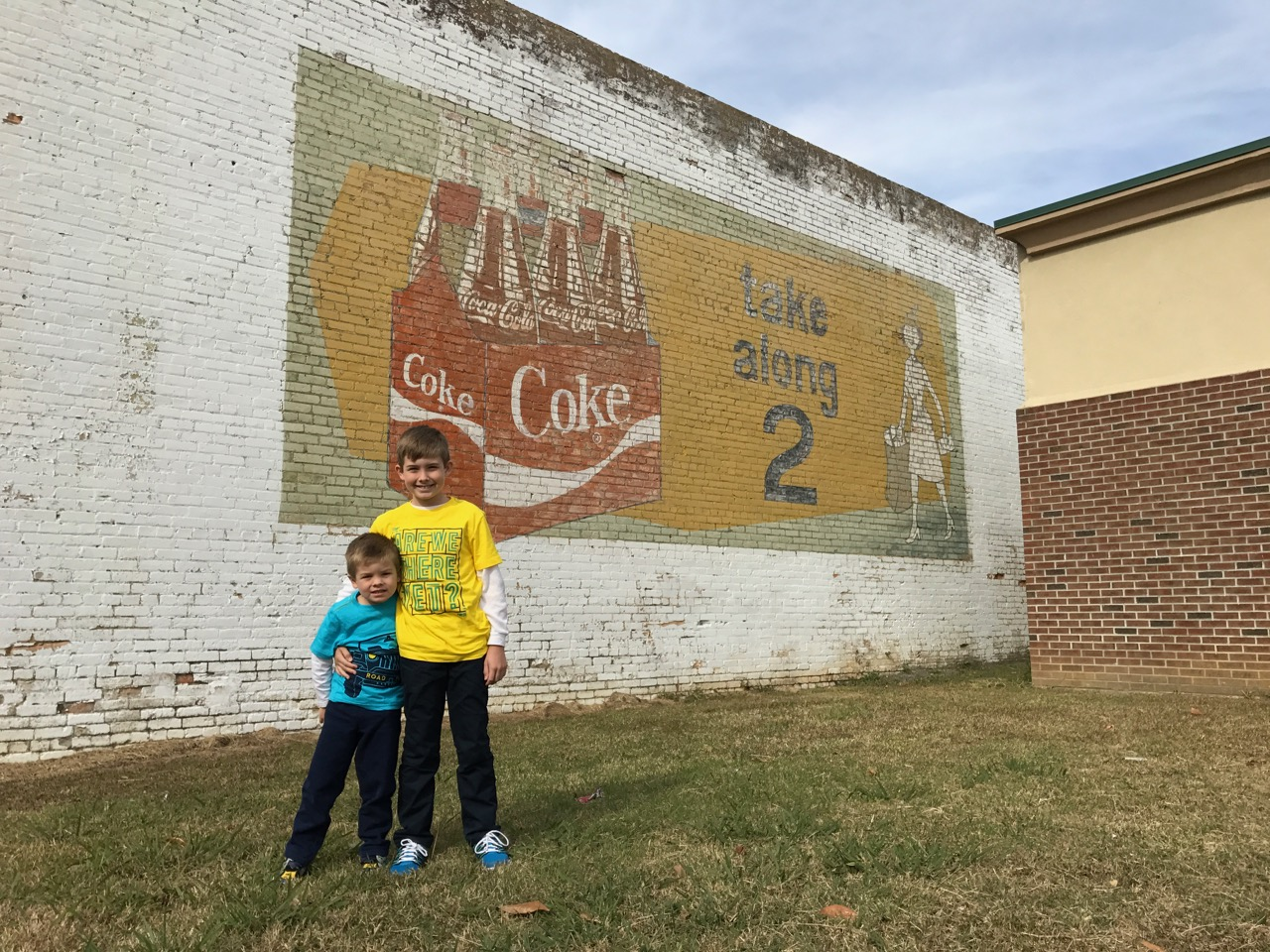 Cool Coke Sign in Rowland, NC