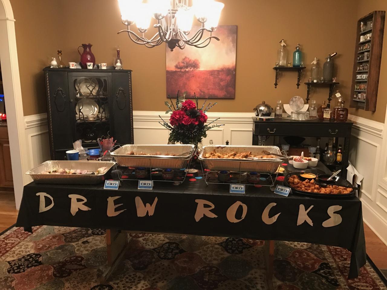 Drew\'s 50th Rockin\' Birthday Party Holly Springs, NC