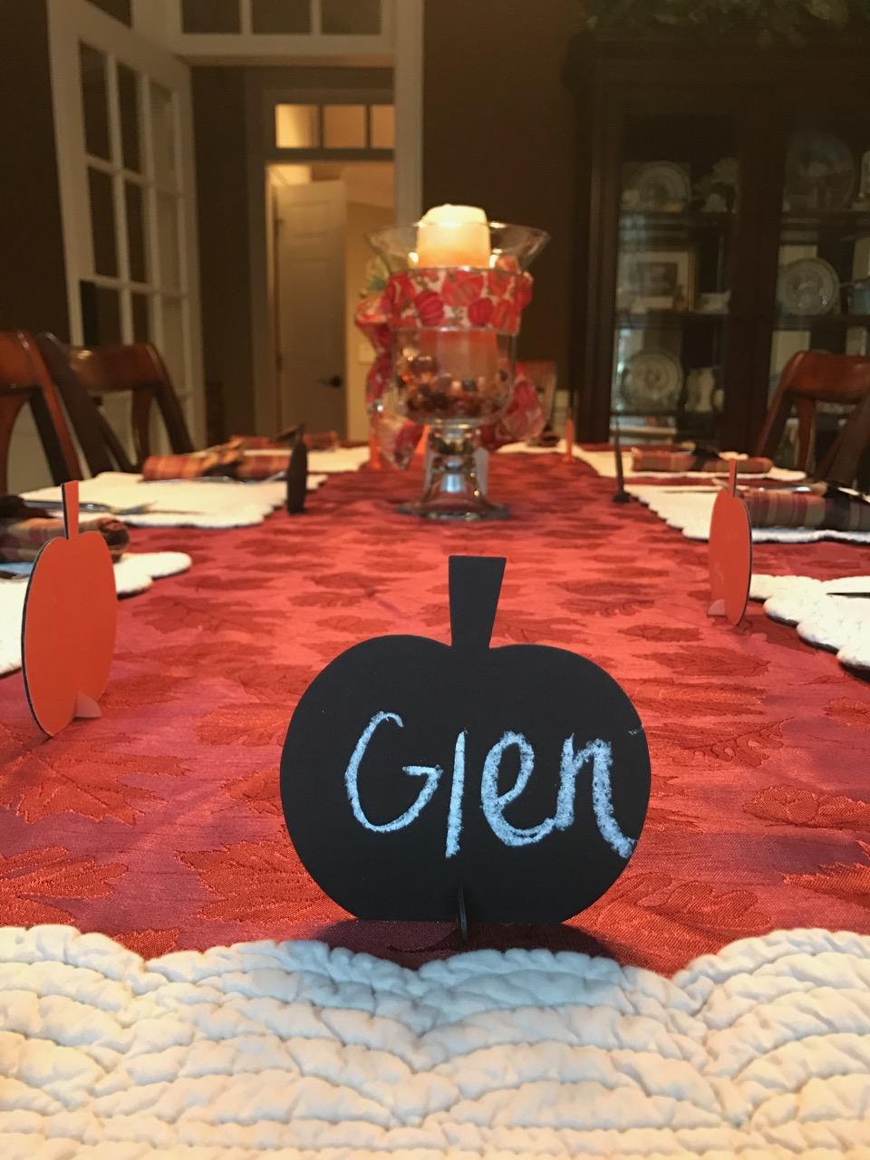 Thanksgiving Decorations 2016 NC