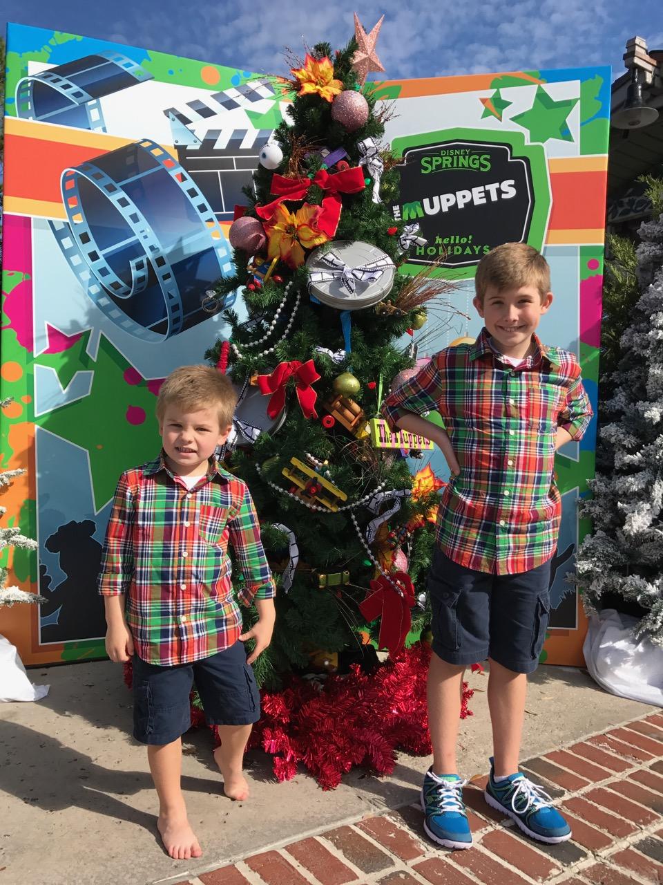 Disney Springs Christmas 2016 Tree Trail