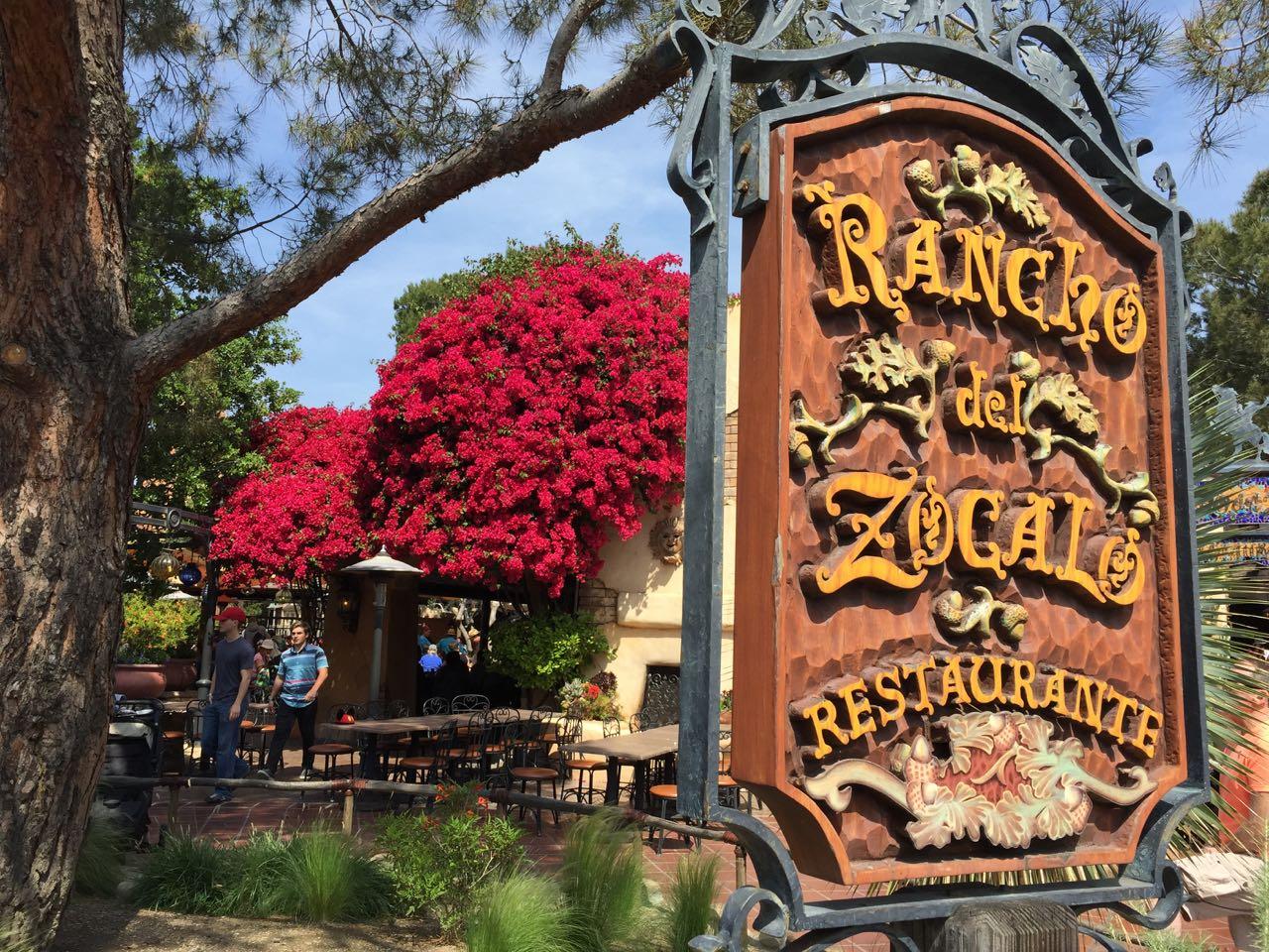 Disneyland Park Rancho del Zocalo Restaurante