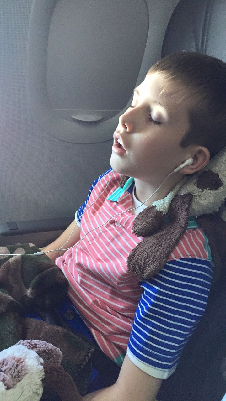 Catching Some Plane Sleep
