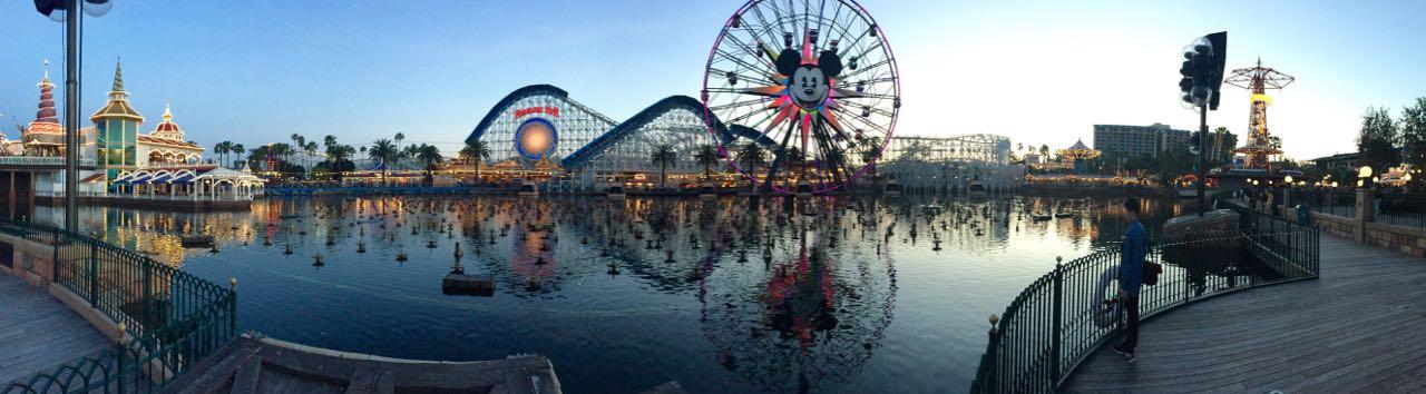 Disney's California Adventure Fun Wheel Skyline