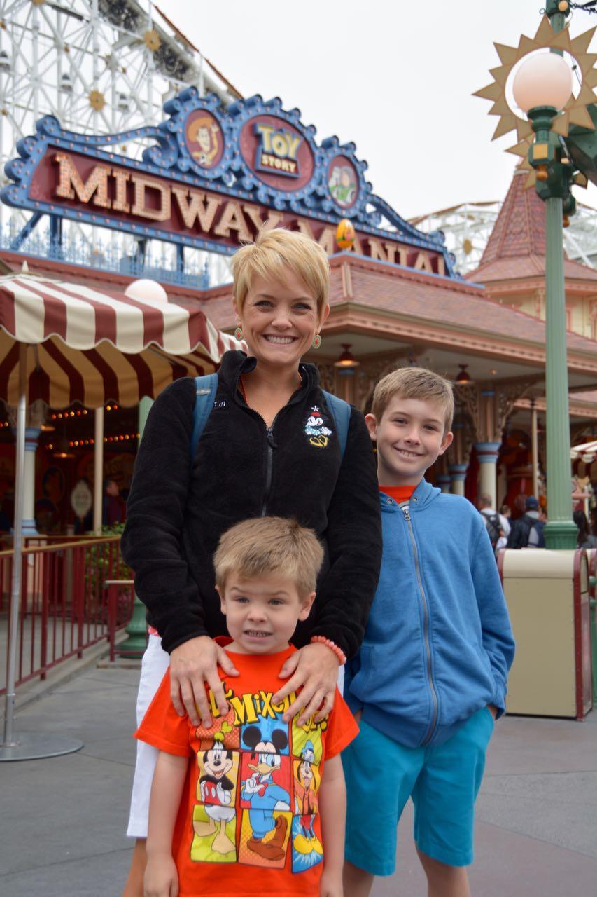 Disney\'s California Adventure Toy Story Midway Mania