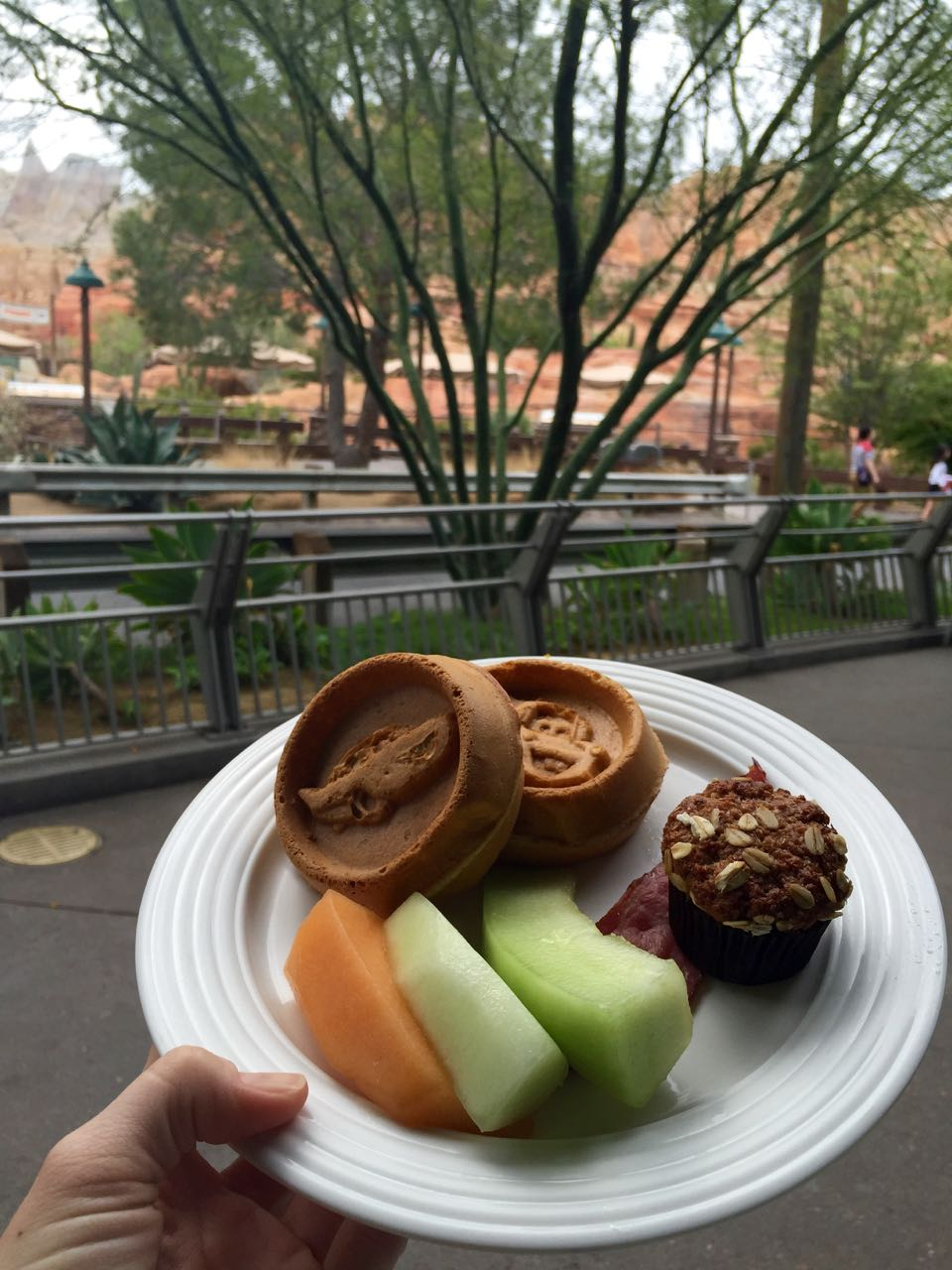 Flo\'s V8 Cafe Breakfast Cars Land