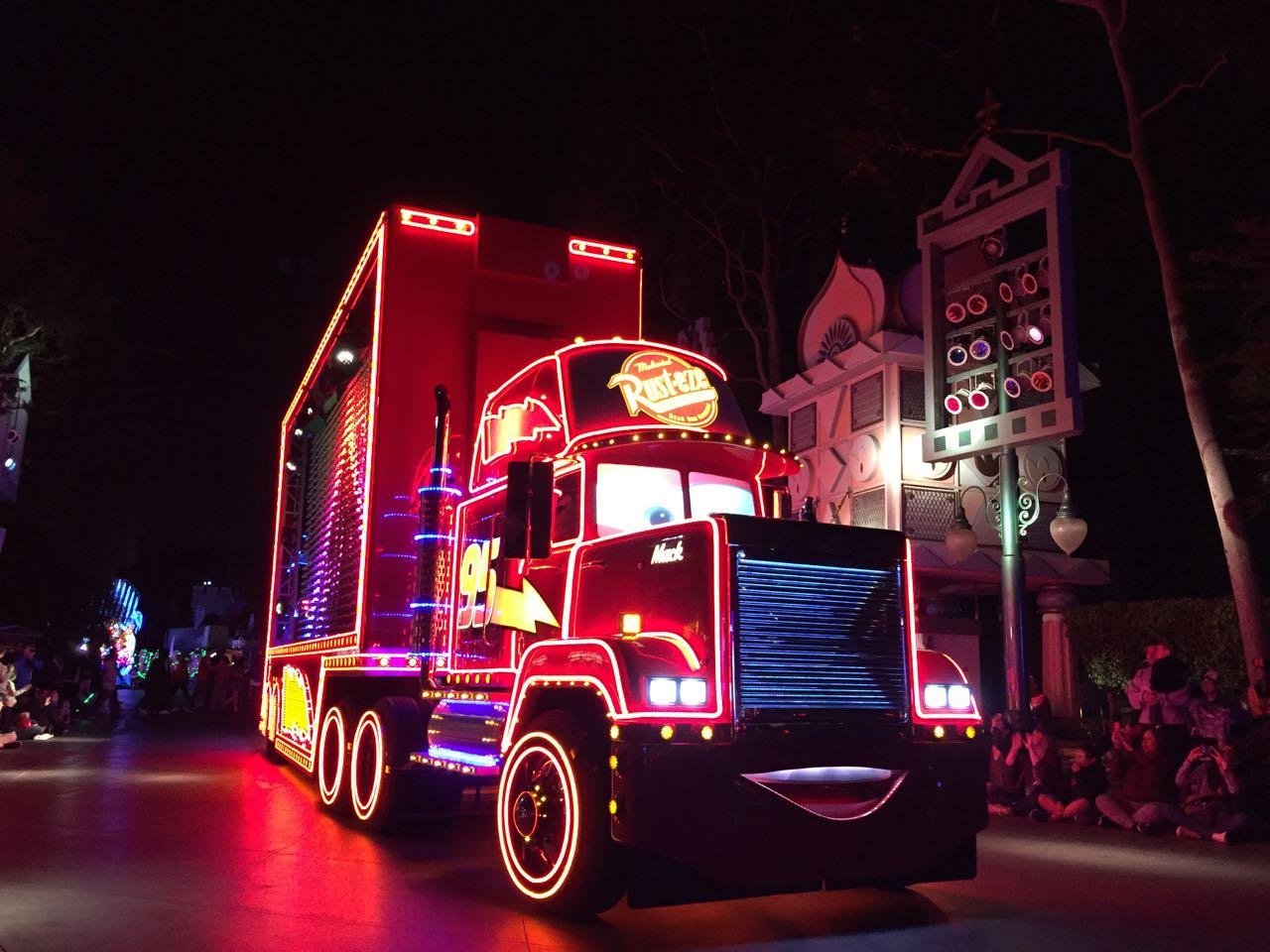 Paint the Night Electrical Parade Disneyland Park