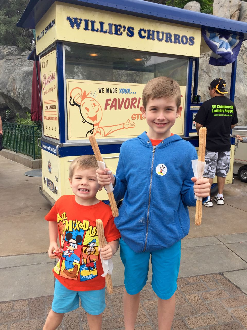Willie\'s Churros Disney\'s California Adventure Park