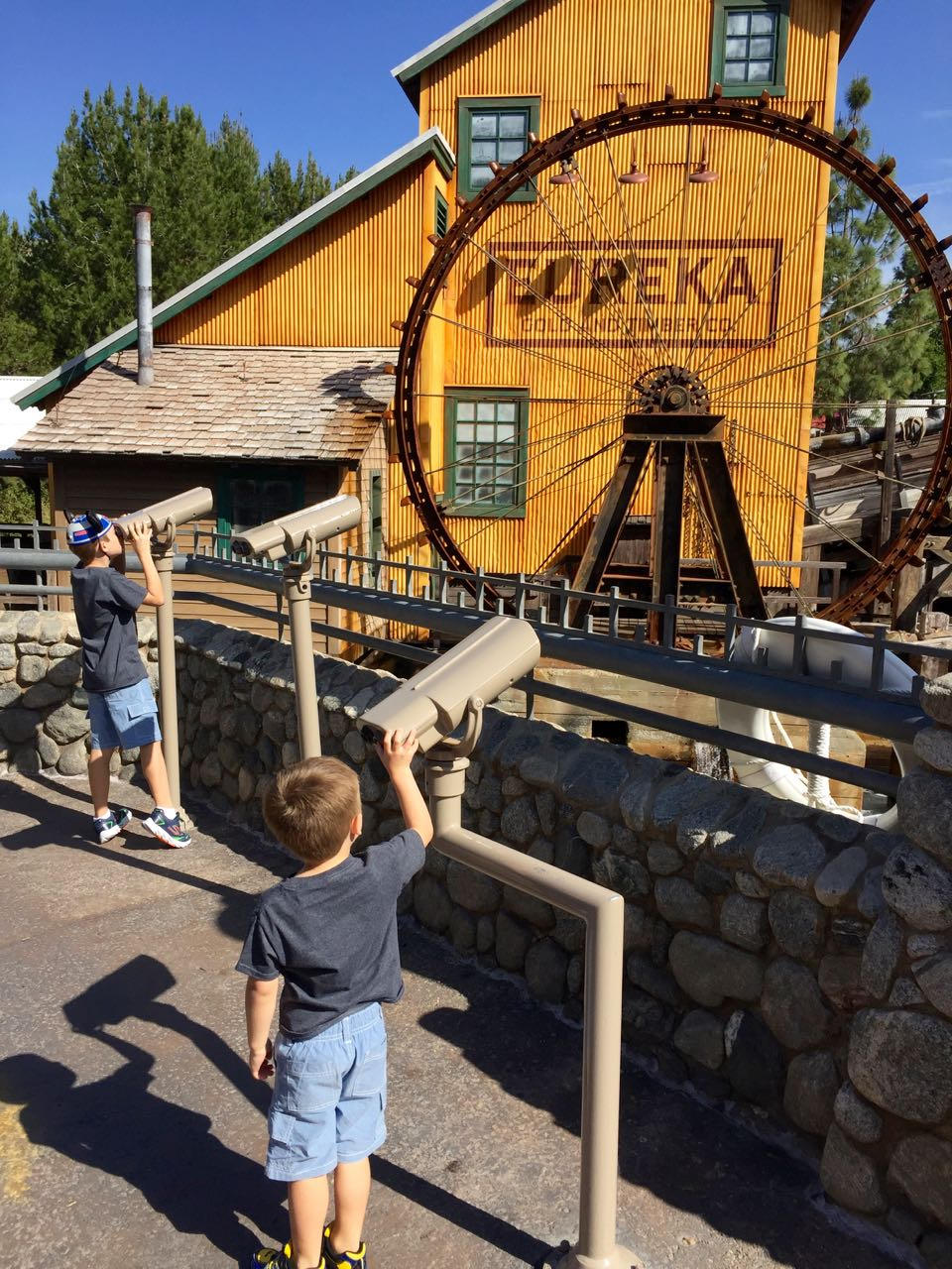 Disney\'s California Adventure Park Grizzly Peak