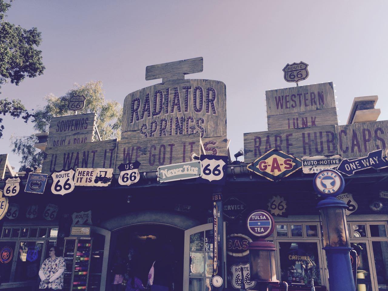 Disney\'s California Adventure Park Radiator Springs