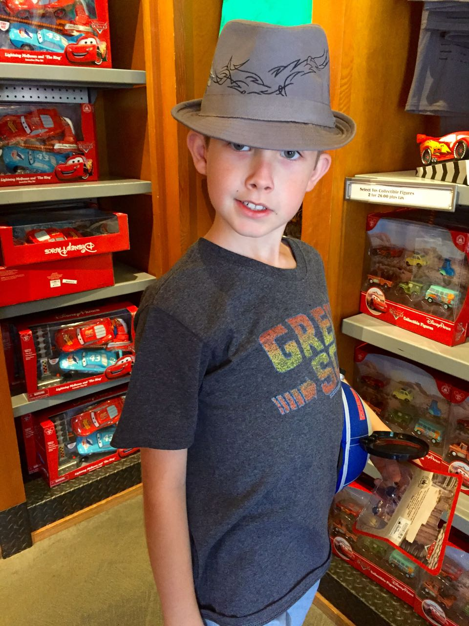 Shopping at Cars Land Disney\'s California Adventure Park