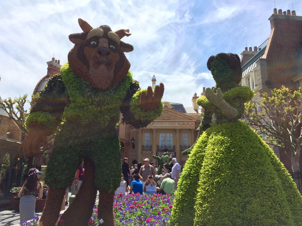Beauty and the Beast Epcot Flower & Garden 2016