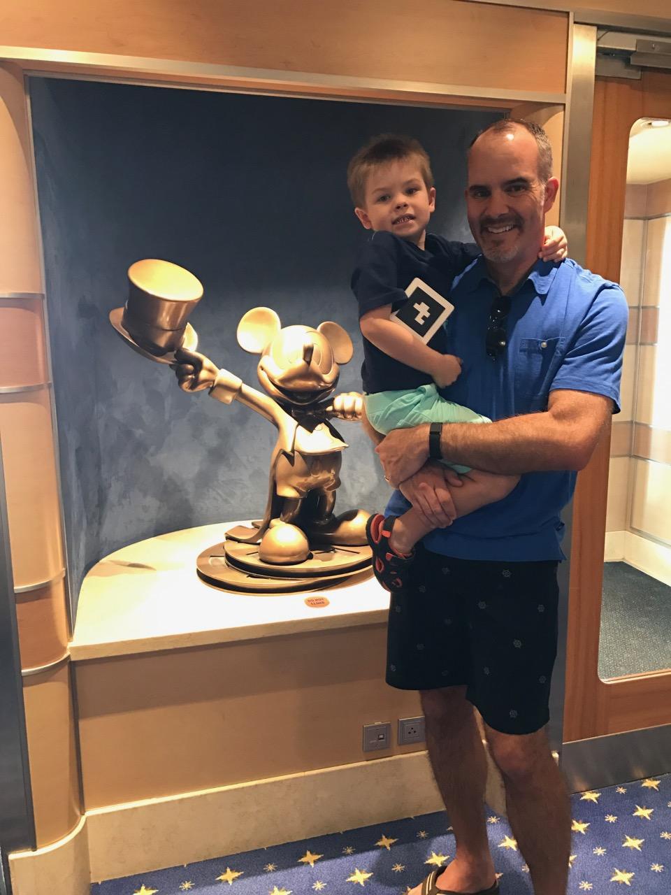 Disney Dream Mickey Statue