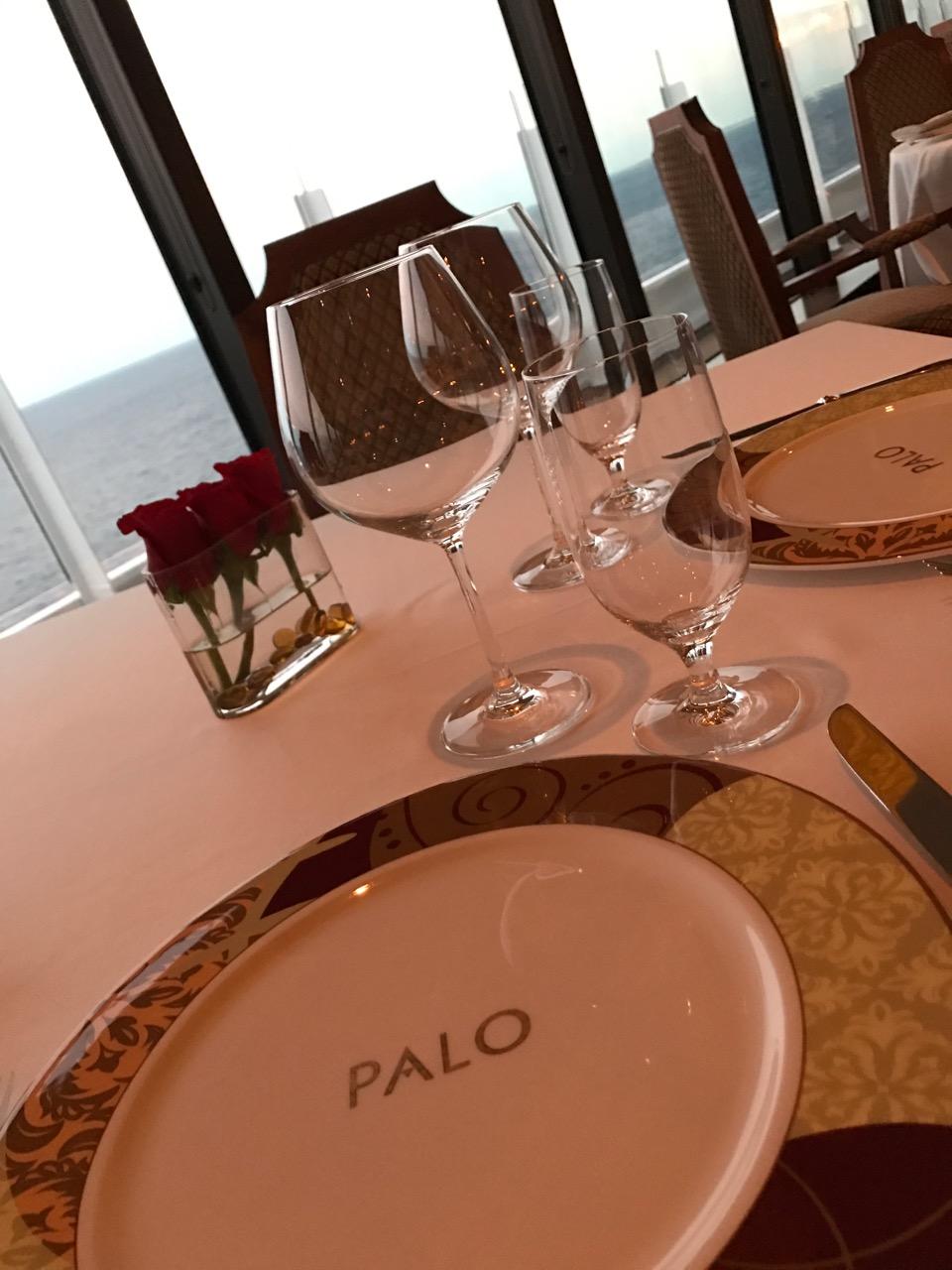 Disney Dream Palo Dinner Place Setting