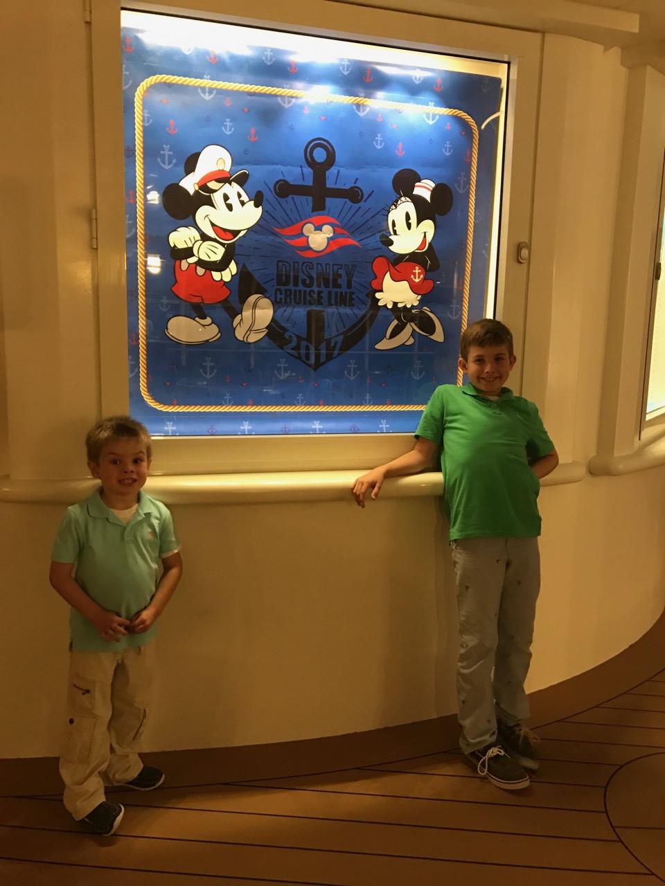 Disney Dream 2017 SIgn