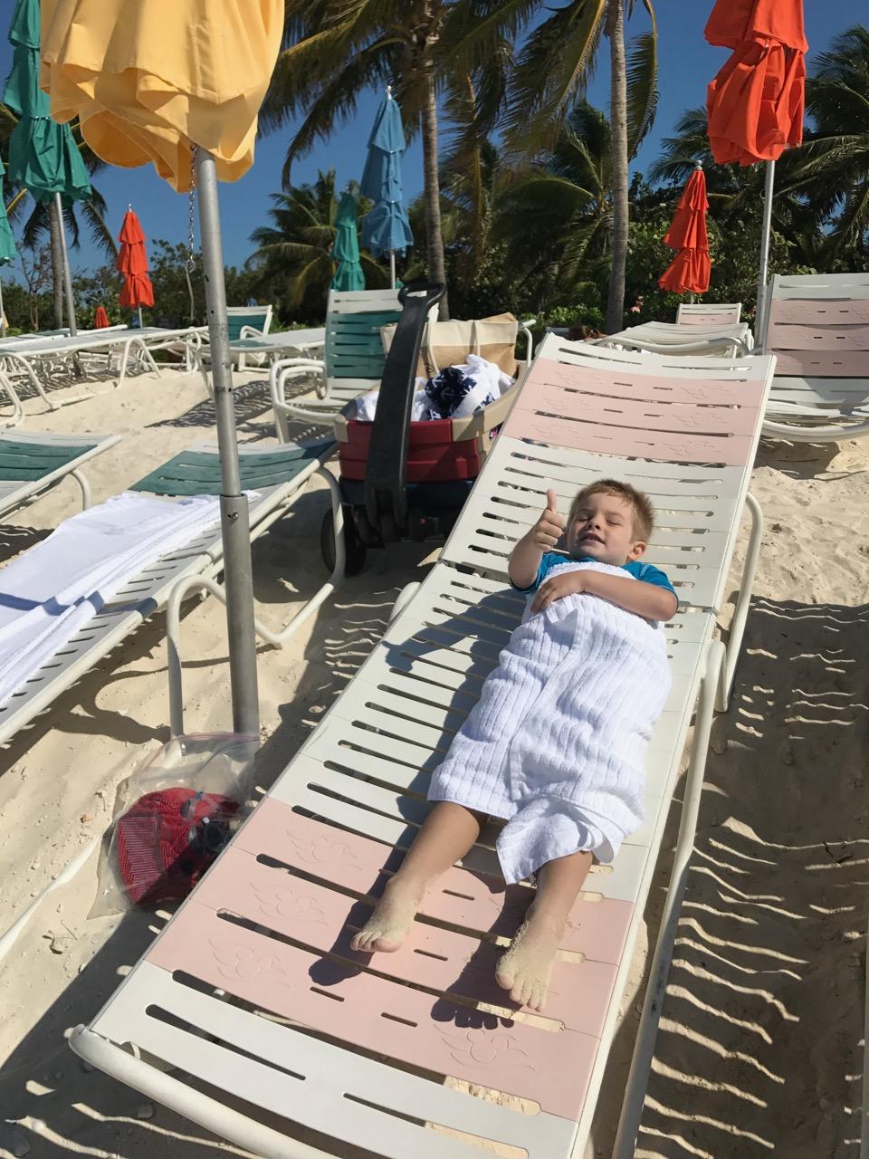 Disney Dream Castaway Cay Beach Chair Chill