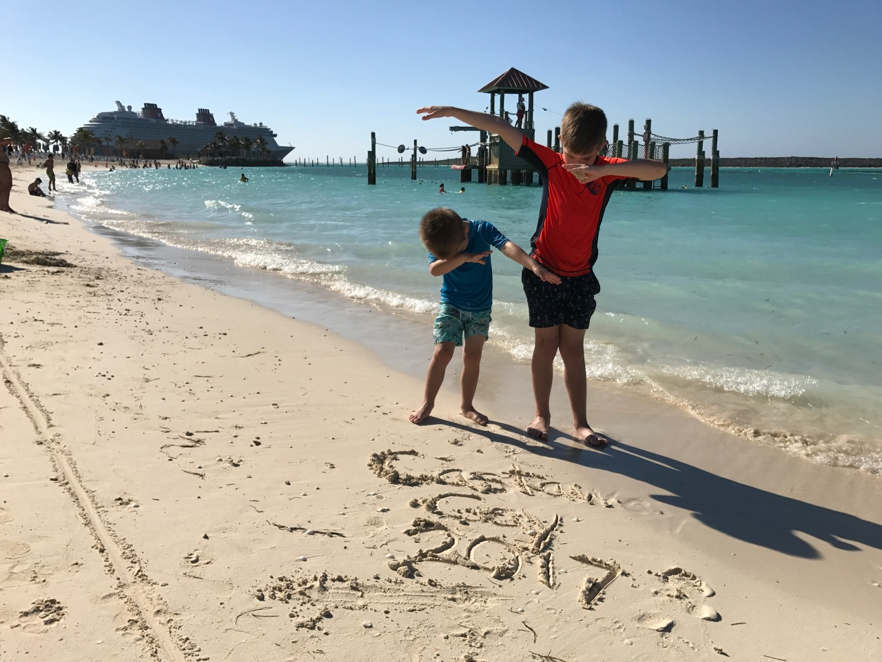 Disney Dream Castaway Cay Beach Dab