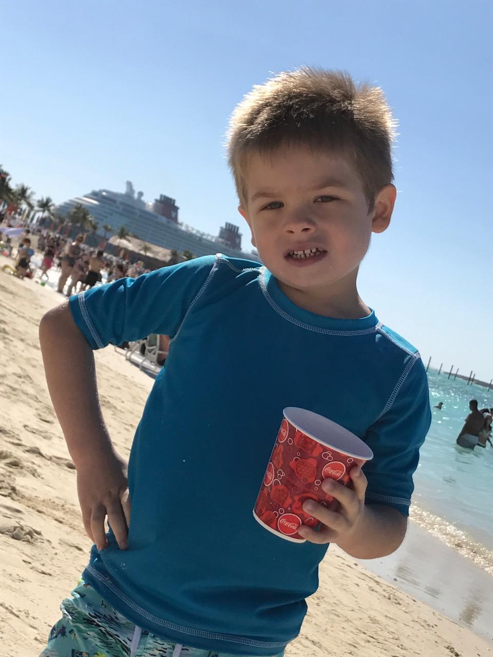 Disney Dream Castaway Cay Beach Time