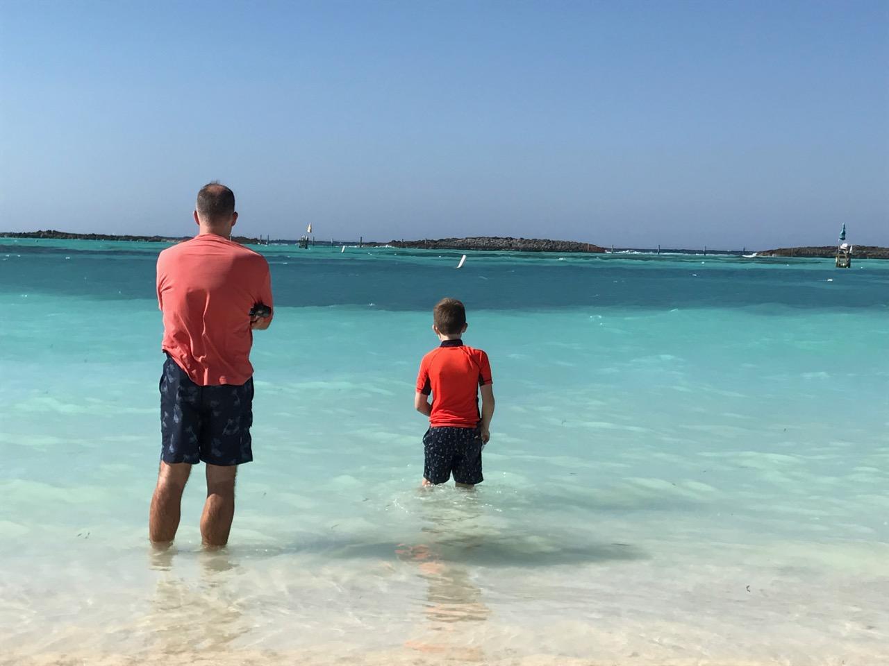 Disney Dream Castaway Cay Clear Water