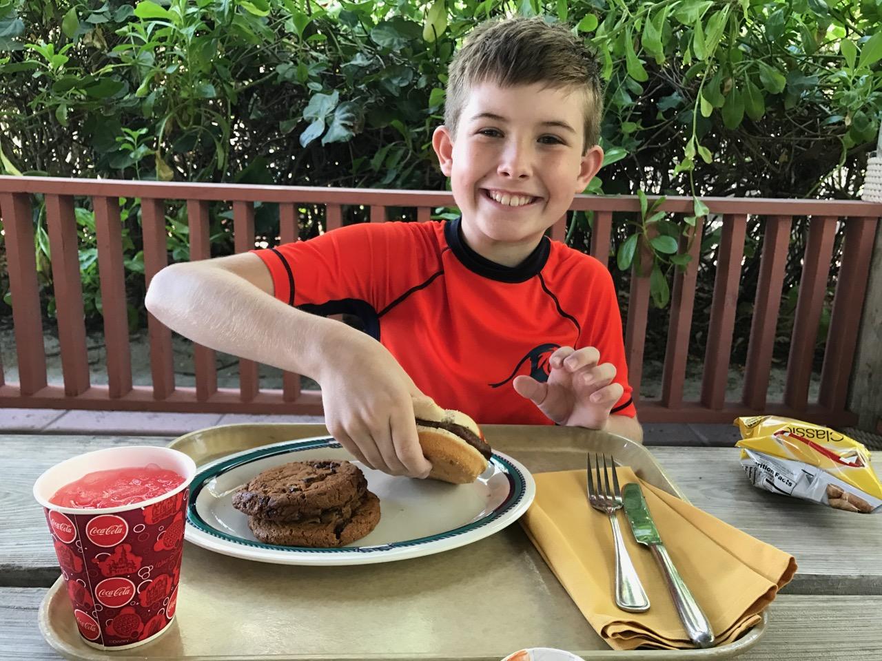 Disney Dream Castaway Cay Cookies Lunch