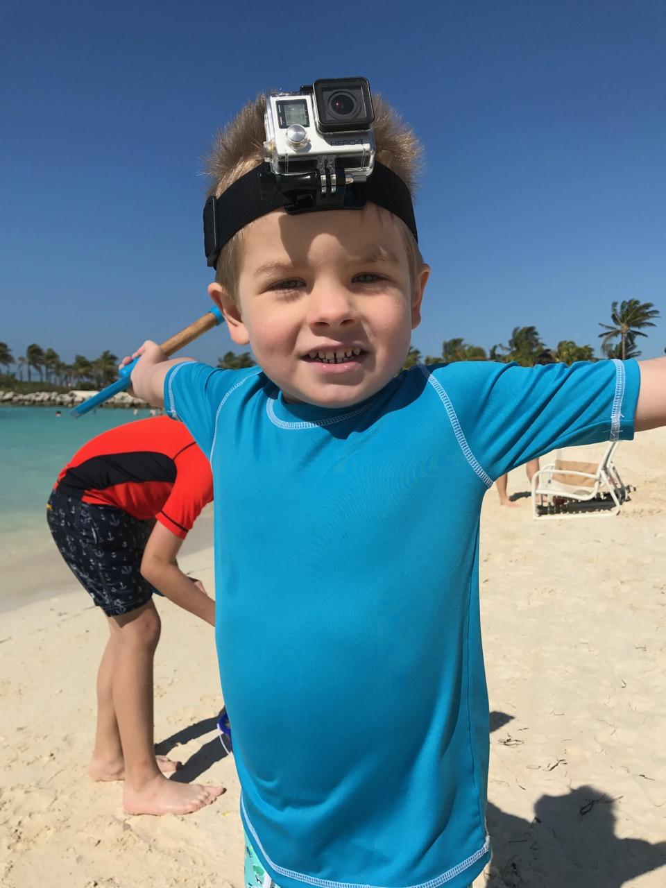 Disney Dream Castaway Cay GoPro Fun