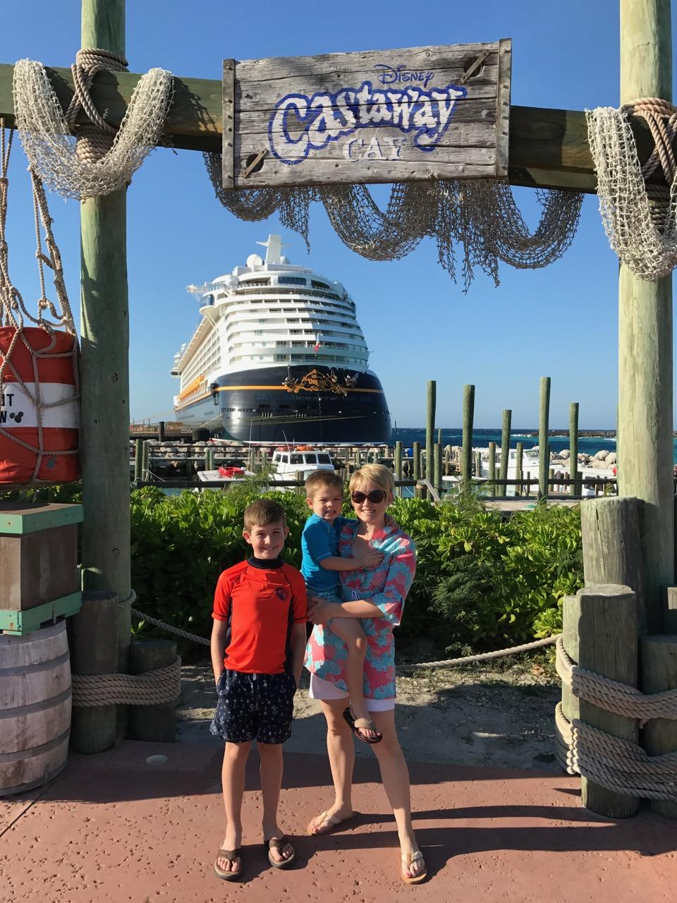 Disney Dream Castaway Cay Photo Op
