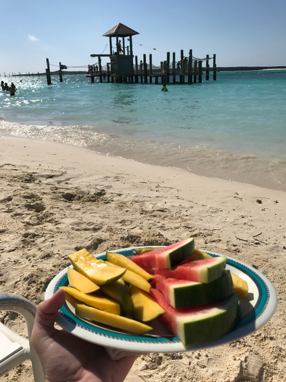 Disney Dream Castaway Cay Plate of Fruit