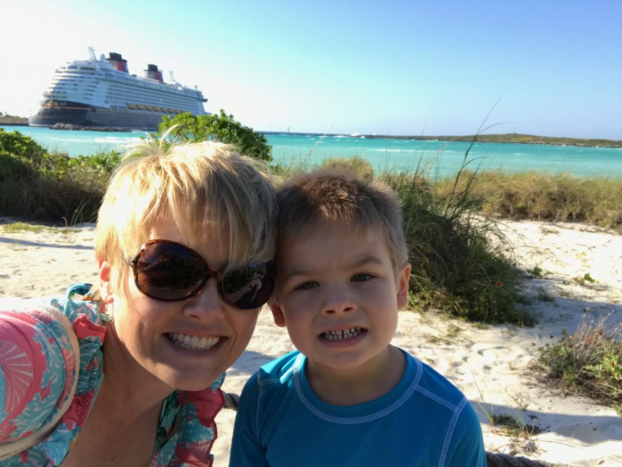 Disney Dream Castaway Cay Ship Selfie