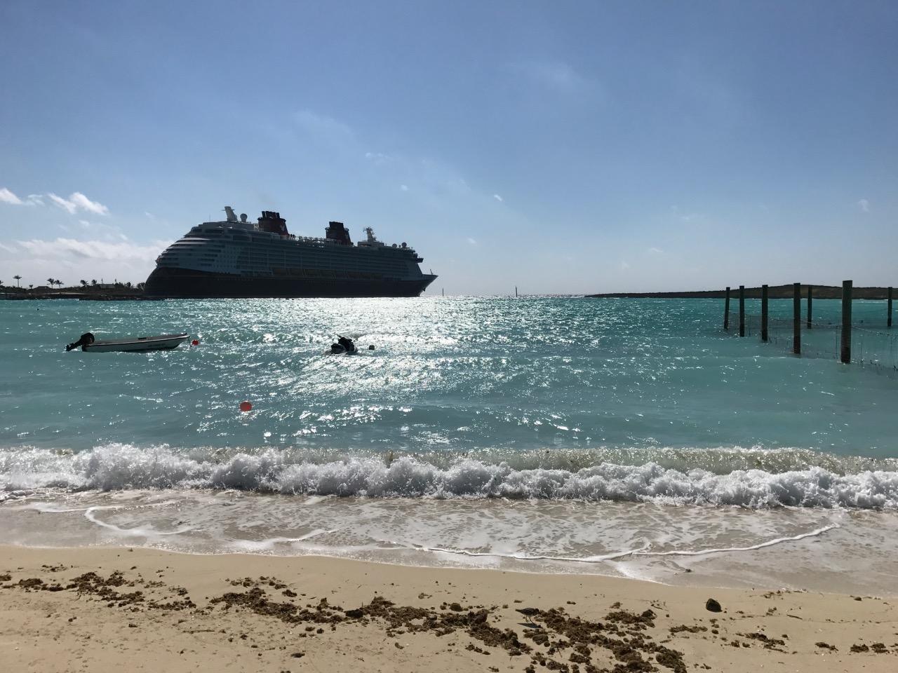 Disney Dream Castaway Cay Ship View