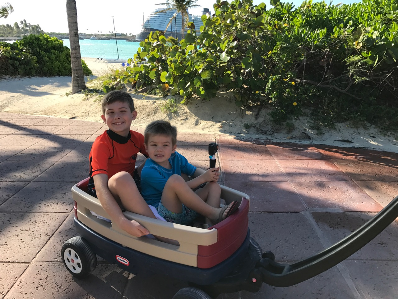 Disney Dream Castaway Cay Wagon Ride