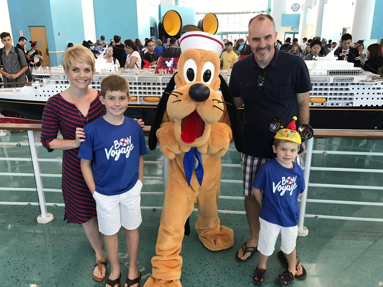 Disney Cruise Line Port Terminal Pluto Photo