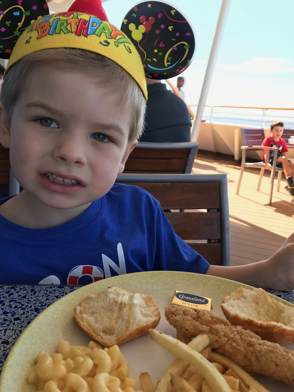 Disney Dream Cabanas Lunch at Port Canaveral