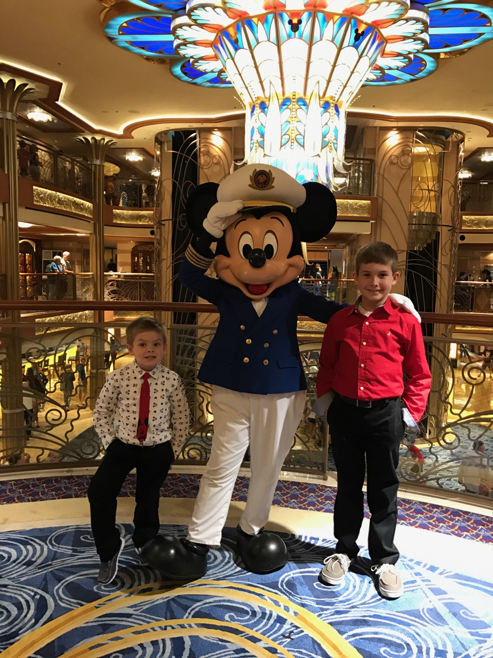 Disney Dream Captain Mickey Meet and Greet