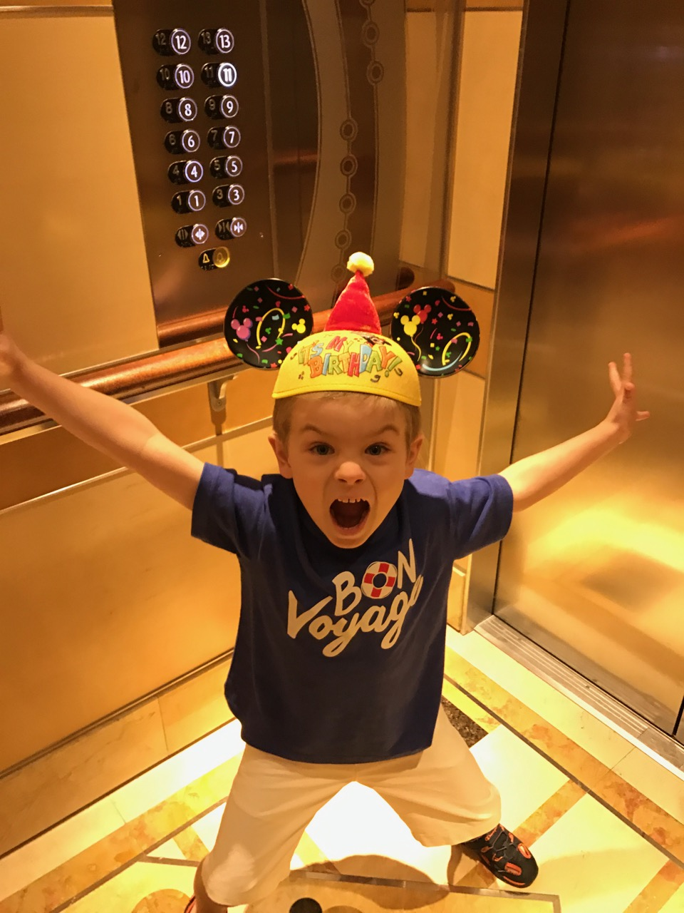 Disney Dream Elevator Ride