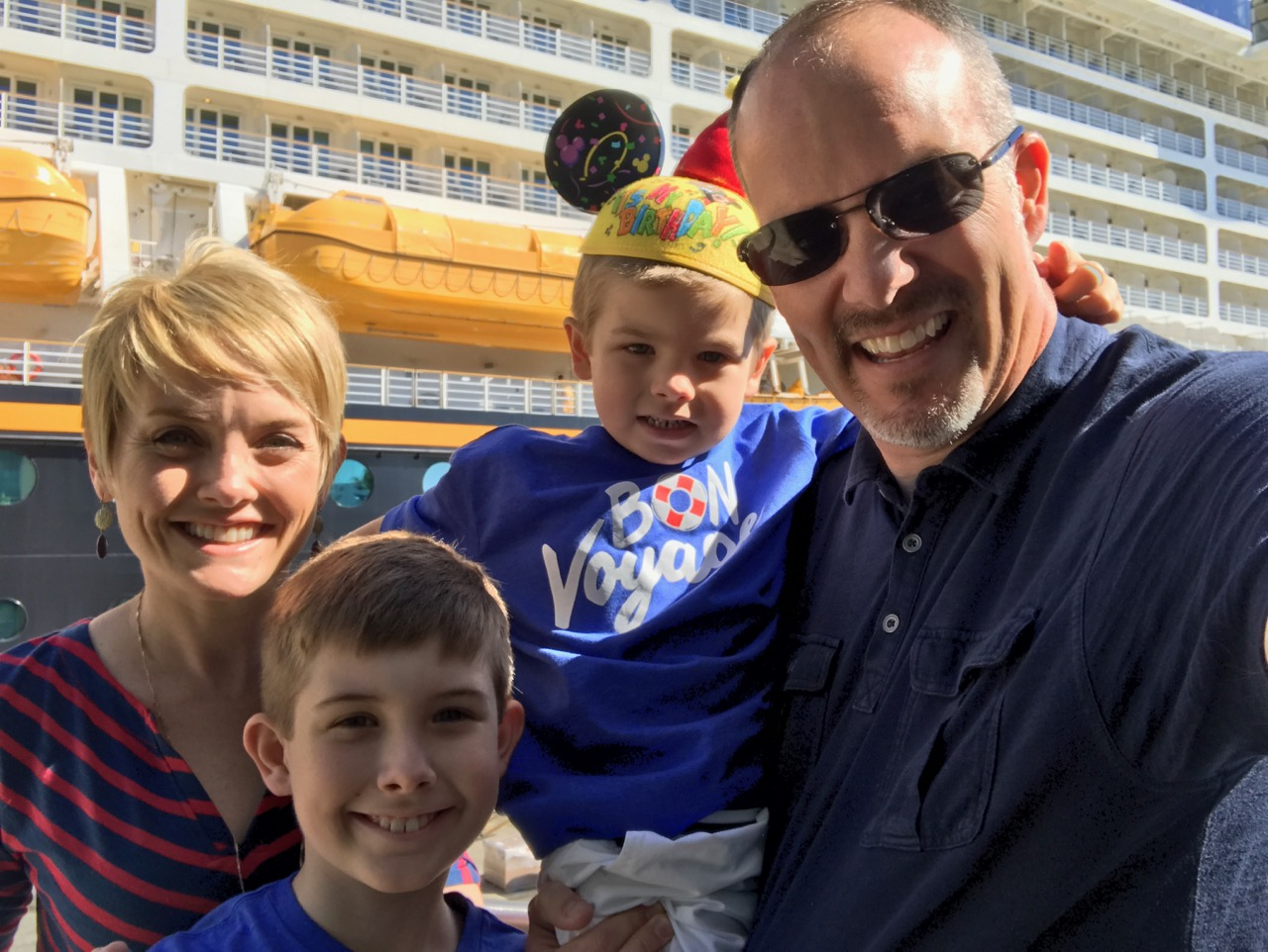 Disney Dream Family Selfie Port Canaveral