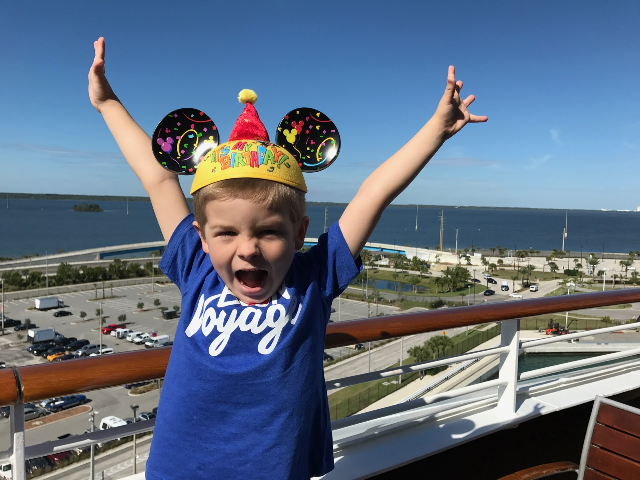 Disney Dream Sets Sail From Port Canaveral