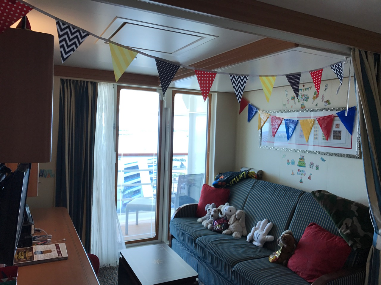 Disney Dream Stateroom Birthday Decorations