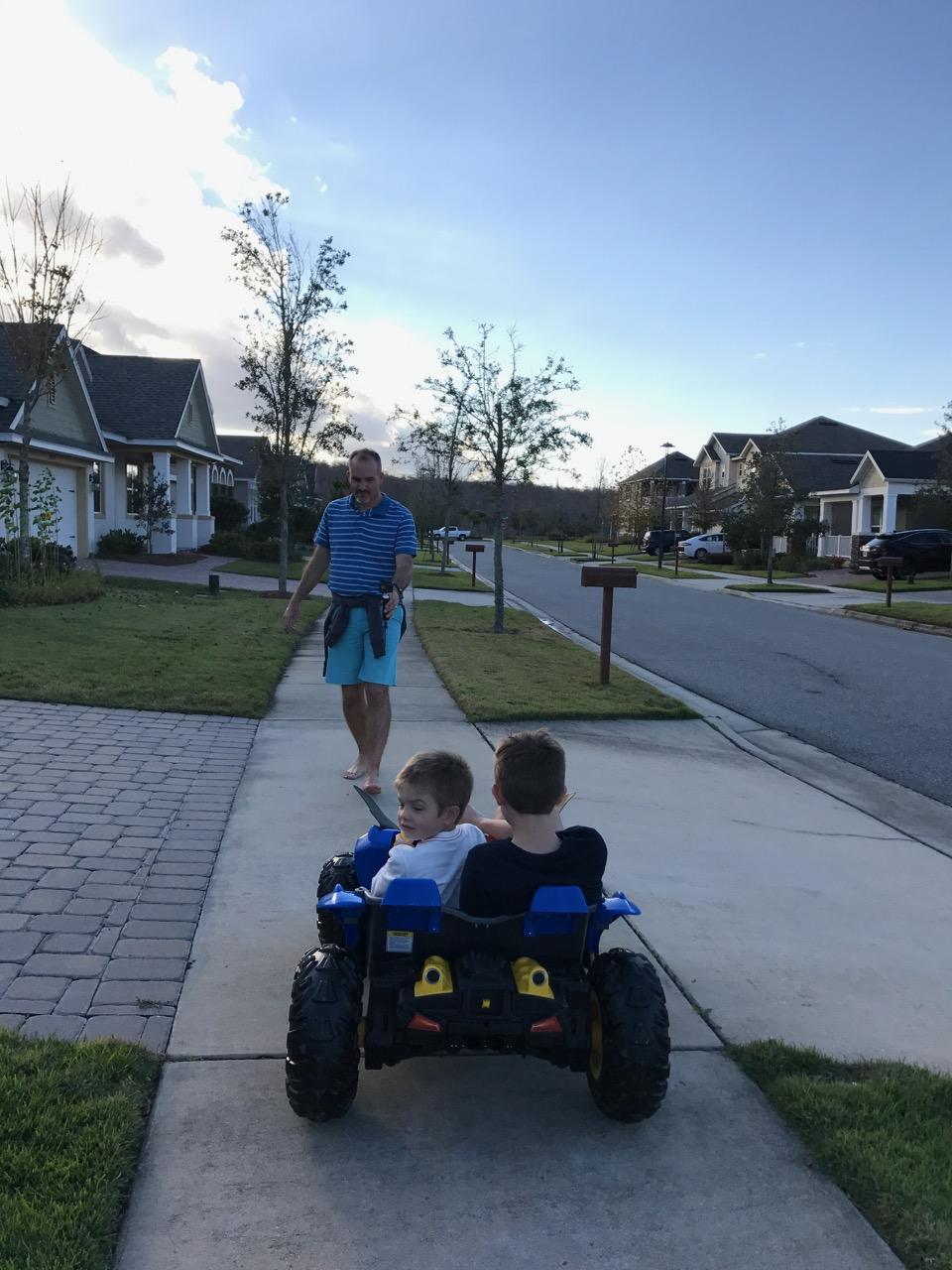 Batman Jeep First Ride