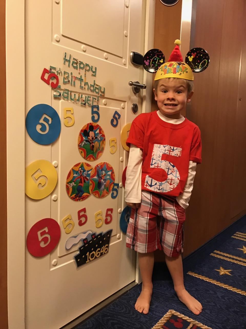 Disney Dream Stateroom Birthday Door Decorations