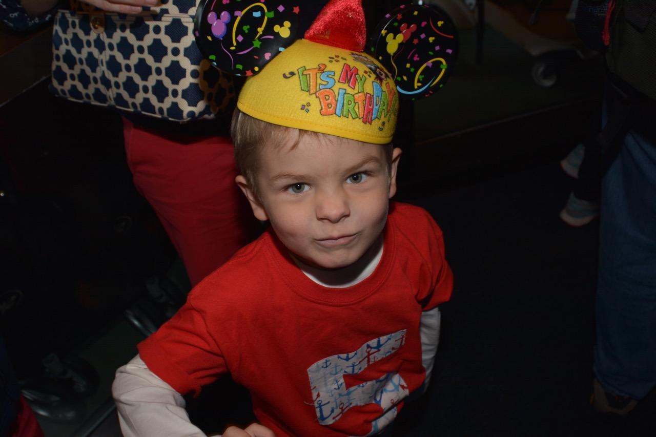 Epcot Birthday Ears Hat