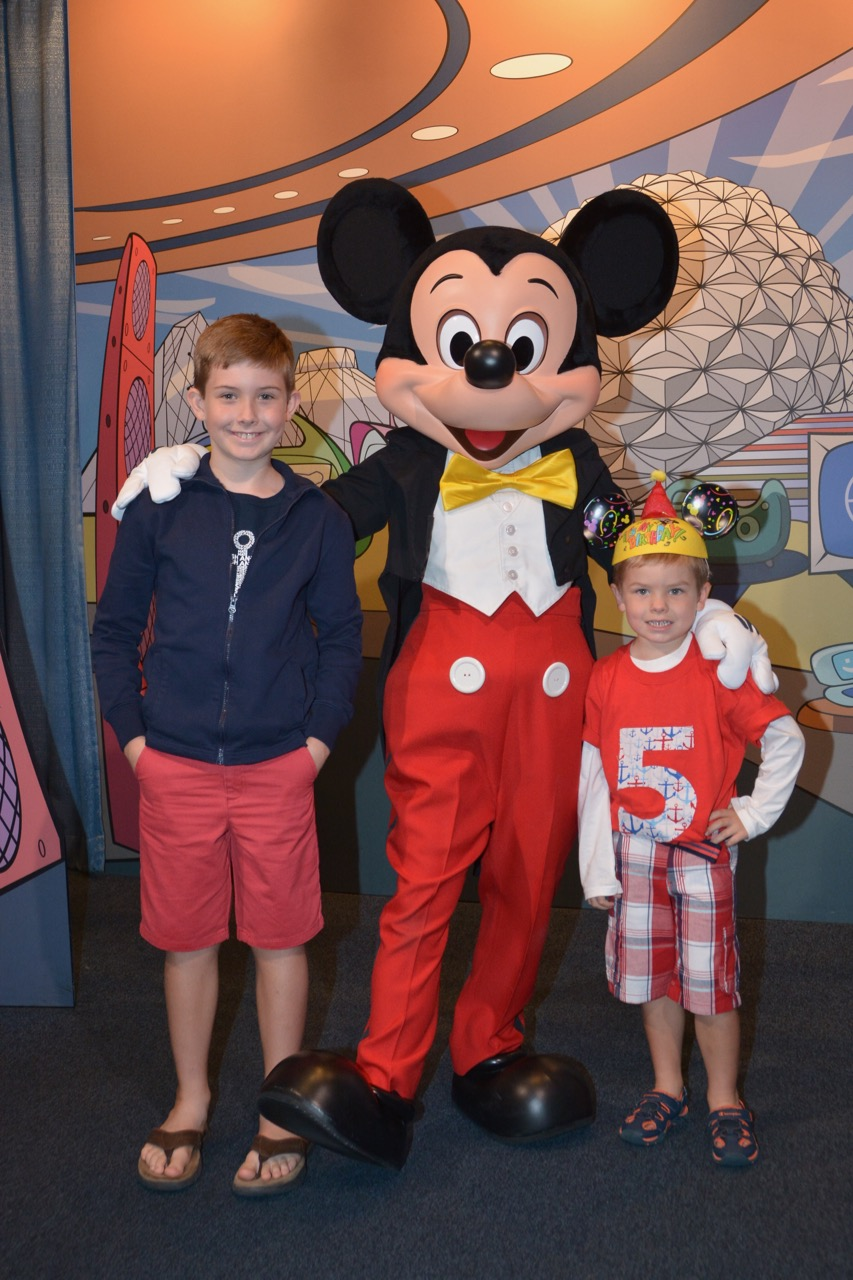 Epcot Character Spot Mickey