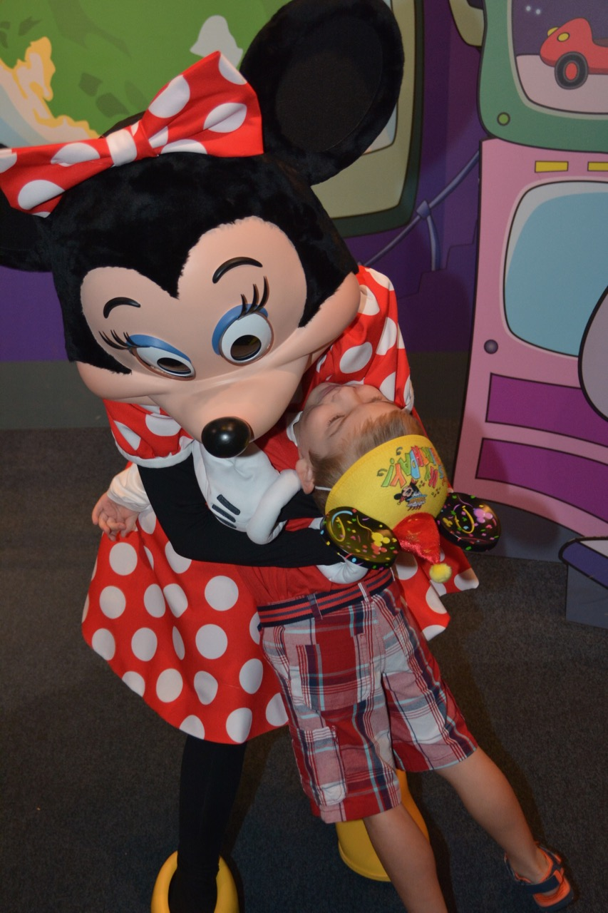 Epcot Character Spot Minnie