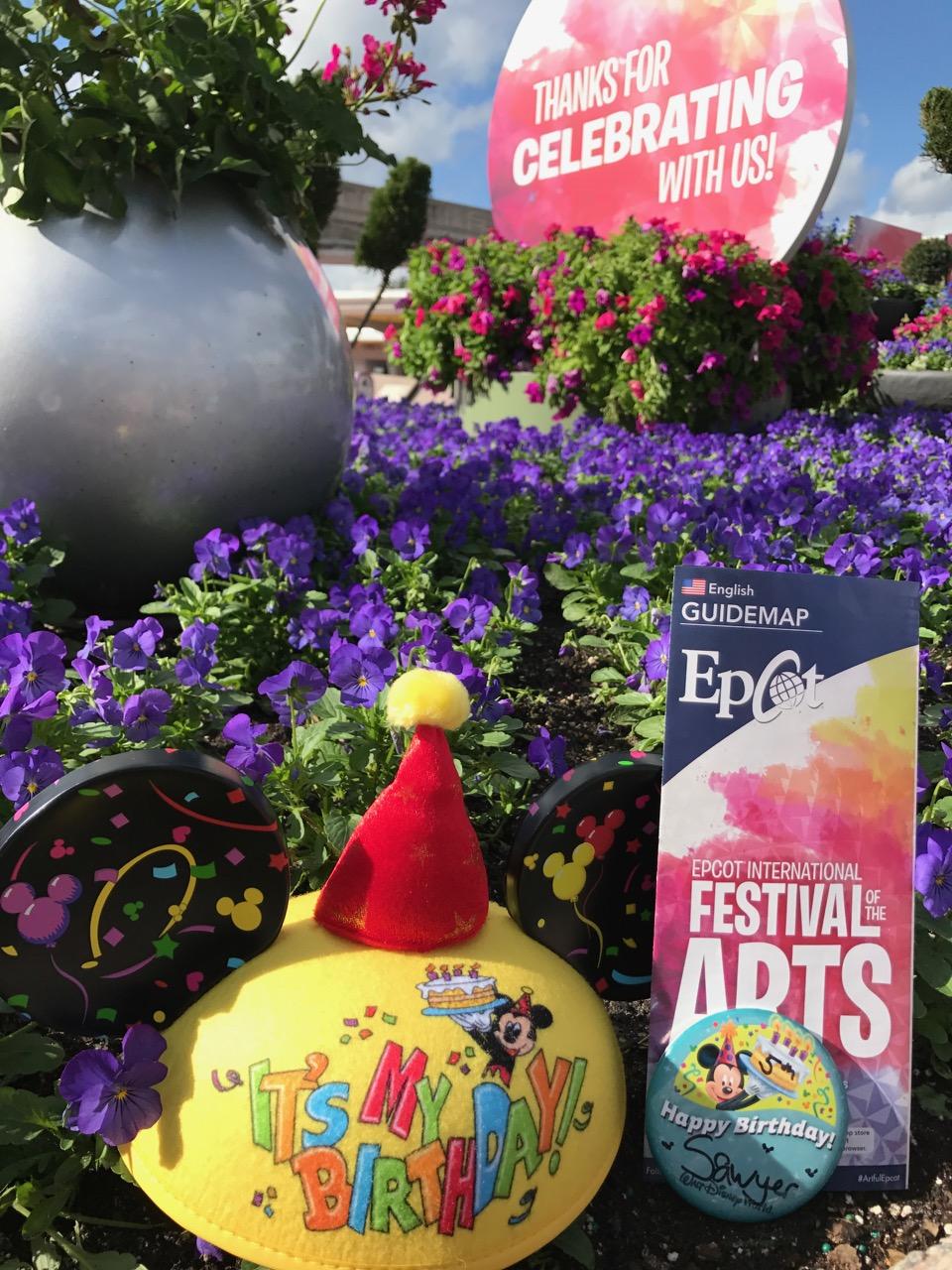 Epcot Festival of the Arts Entrance