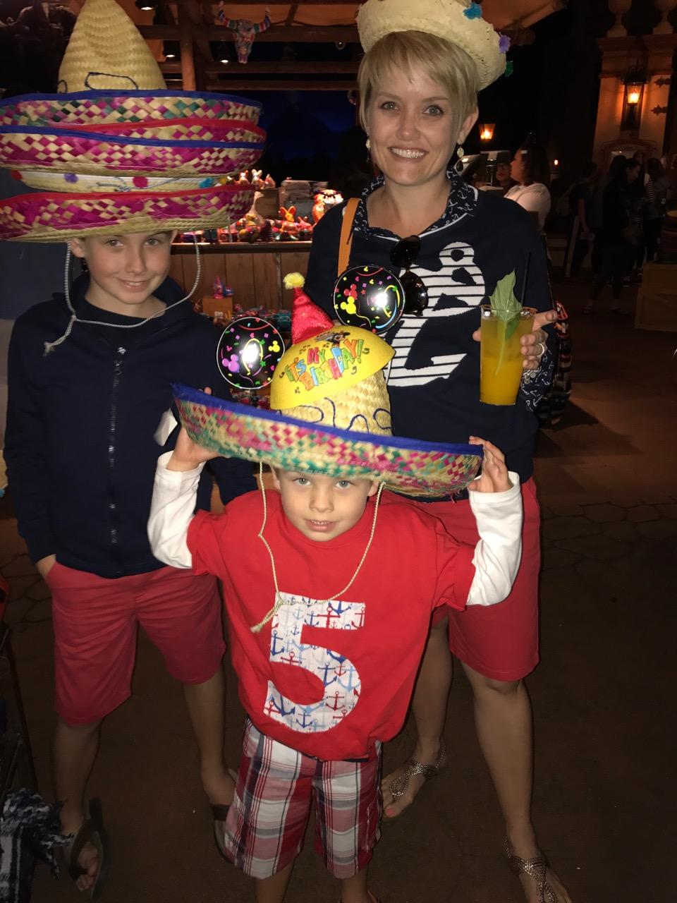 Epcot Fun in Mexico